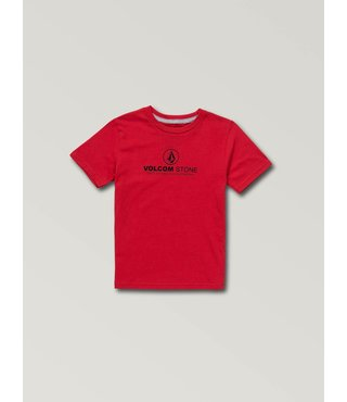 Little Boys Super Clean Short Sleeve Tee - True Red