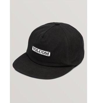 VOLCOM Big Boys Crowd Control Hat - Black