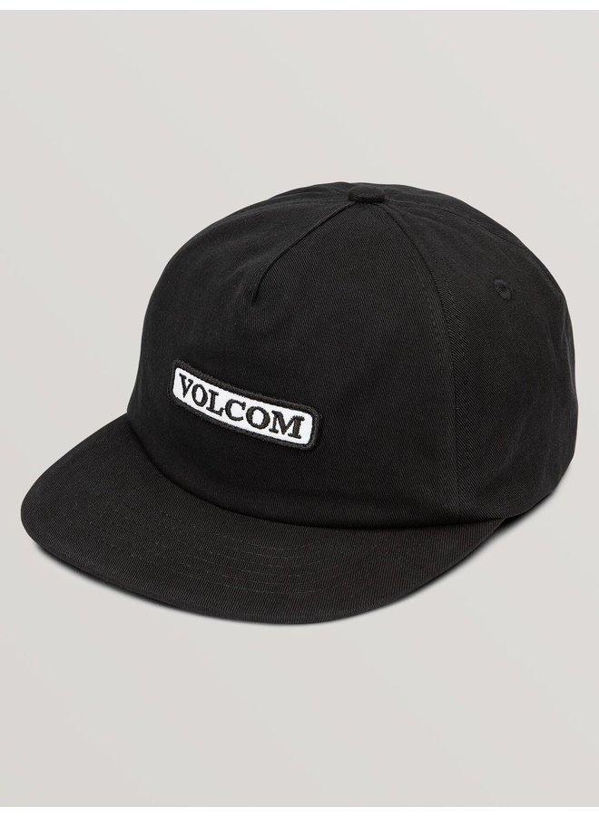 Big Boys Crowd Control Hat - Black