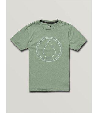 Big Boys Pin Stone Short Sleeve Tee - Dusty Green