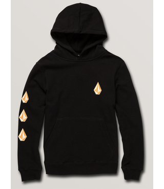 Big Boys Deadly Stone Pullover Hoodie - Black