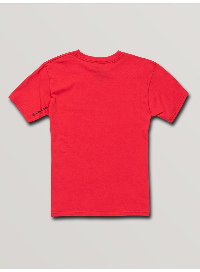 Big Boys Super Clean Short Sleeve Tee - True Red