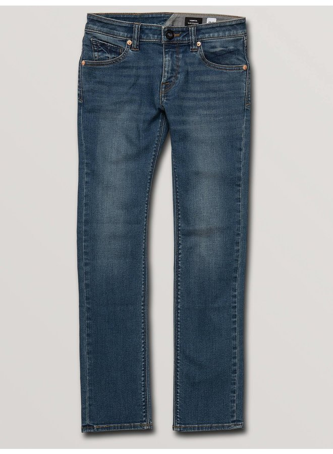 Big Boys Vorta Slim Fit Jeans - Dust Bowl Indigo