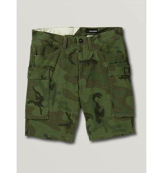VOLCOM Big Boys Gritter Cargo Shorts - Camouflage