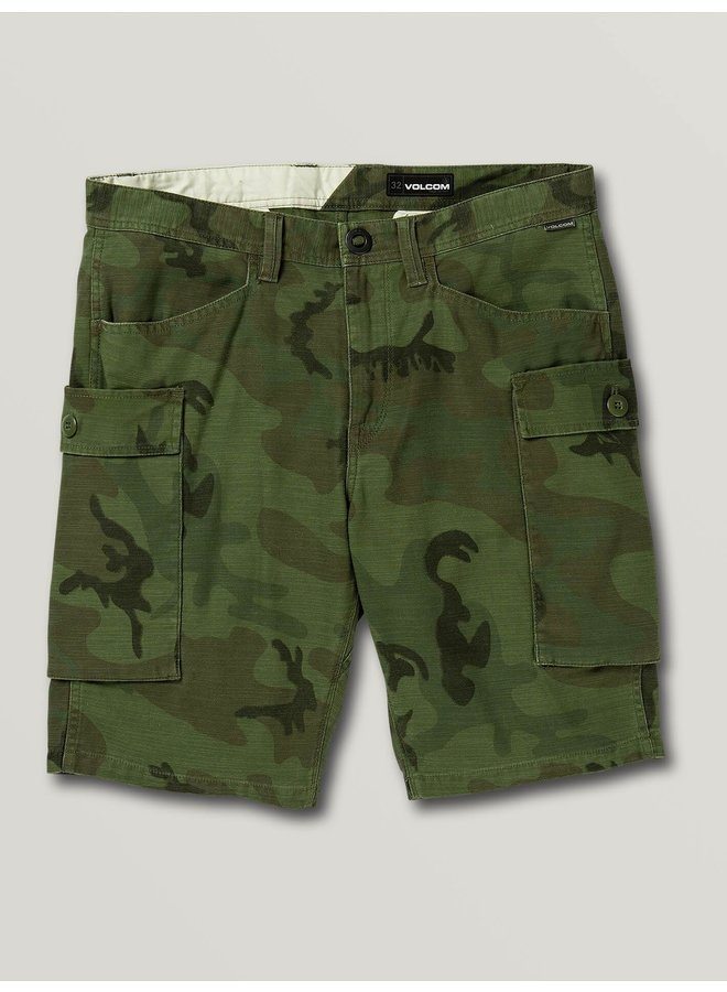Big Boys Gritter Cargo Shorts - Camouflage
