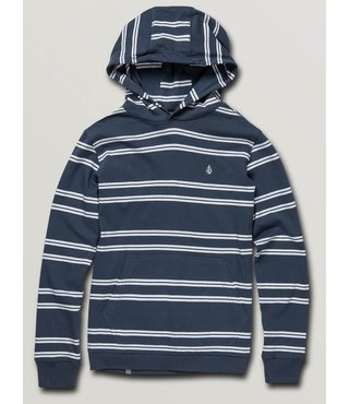 Big Boys Beauville Long Sleeve Hoodie - Indigo