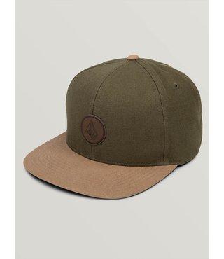 Quarter Fabric Hat - Army