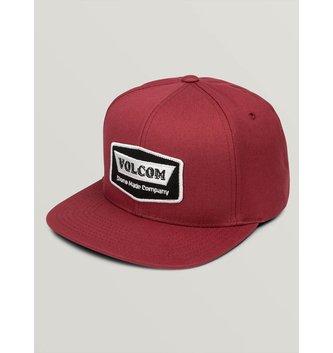 VOLCOM Cresticle Hat - Burgundy