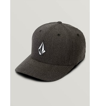 VOLCOM Full Stone Heather XFit® Hat - Charcoal Heather