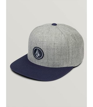 Quarter Twill Hat - Medium Grey