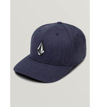 VOLCOM Full Stone XFit Hat - Navy Heather