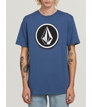 Spray Stone Short Sleeve Tee - Indigo