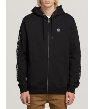 Supply Stone Zip Hoodie - Black