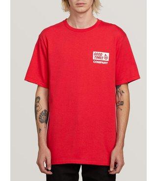 Volcom Is Good Short Sleeve Tee - True Red