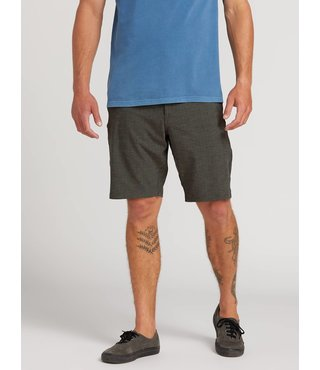 Frickin Surf N' Turf Slub Hybrid Shorts - Black