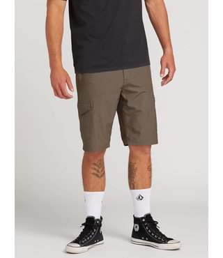 Surf N' Turf Dry Cargo Hybrid Shorts - Mushroom