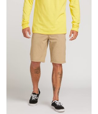Frickin Surf N' Turf Static Hybrid Shorts - Dark Khaki