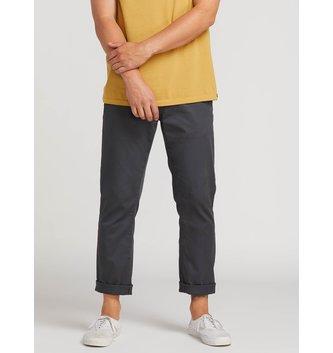VOLCOM Frickin Modern Stretch Chino Pants - Charcoal