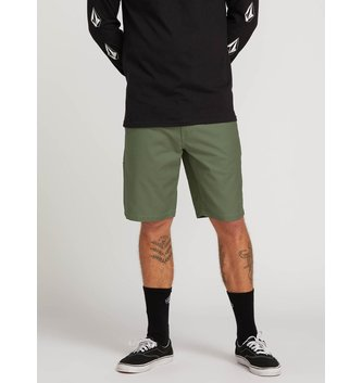 VOLCOM Riser Shorts - Faded Army