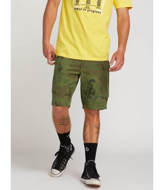 Gritter Cargo Shorts - Camouflage