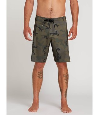 Lido Solid Mod Board Shorts - Camouflage