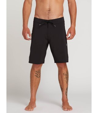 Lido Solid Mod Board Shorts - Black