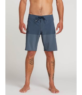 Lido Heather Board Shorts - Vintage Blue