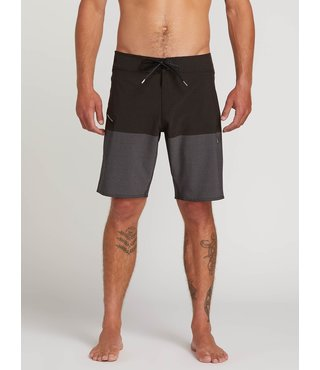 Lido Heather Board Shorts - Black