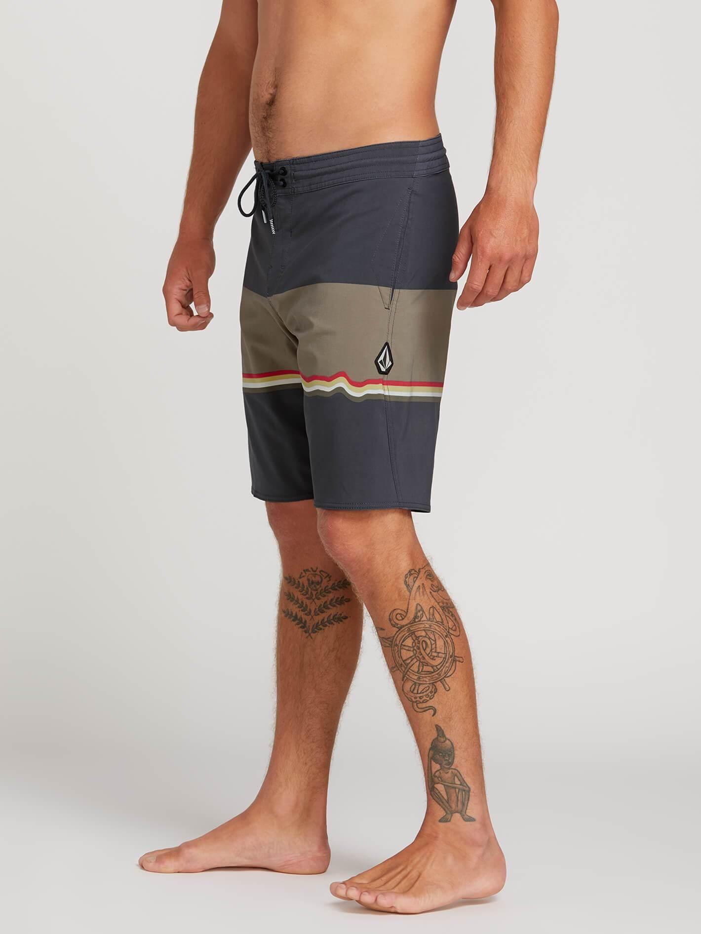 86c7ee92d9 VOLCOM 3 Quarta Stoney Board Shorts - Asphalt Black. Press tab to enlarge