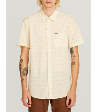 Magstone Short Sleeve Button Up Shirt - Off White