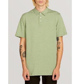 VOLCOM Wowzer Polo Shirt - Dusty Green