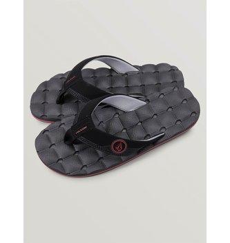 VOLCOM Big Boys Recliner Sandals - Graphite