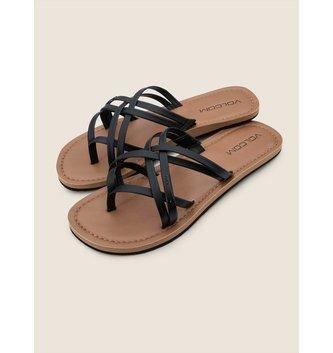 VOLCOM Strap Happy Sandals - Black
