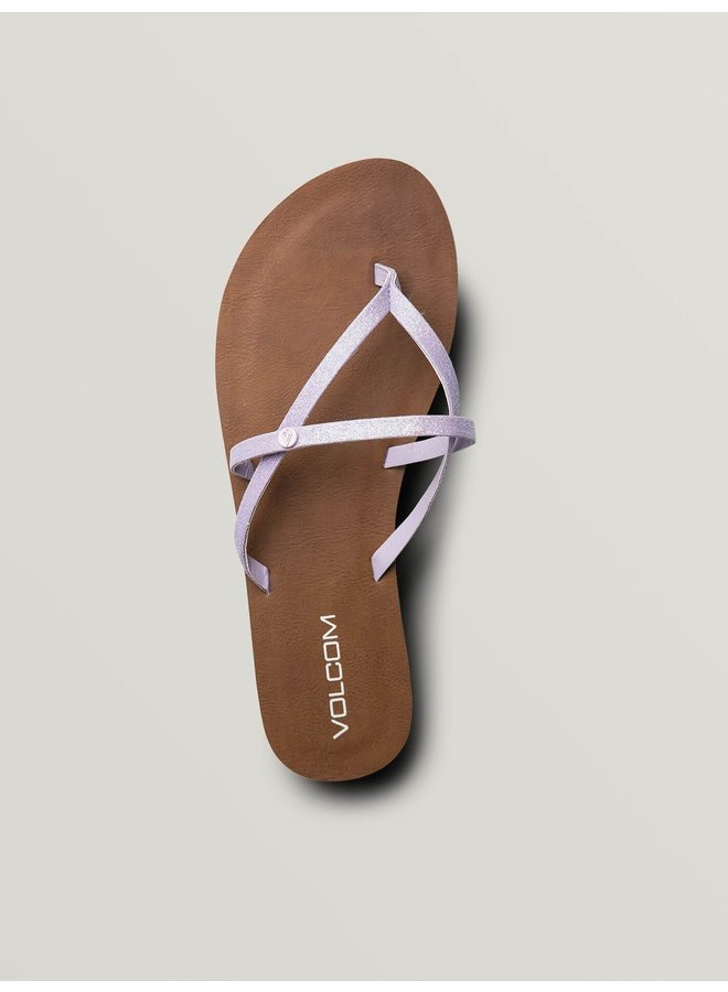 All Night Long Sandals - Light Purple