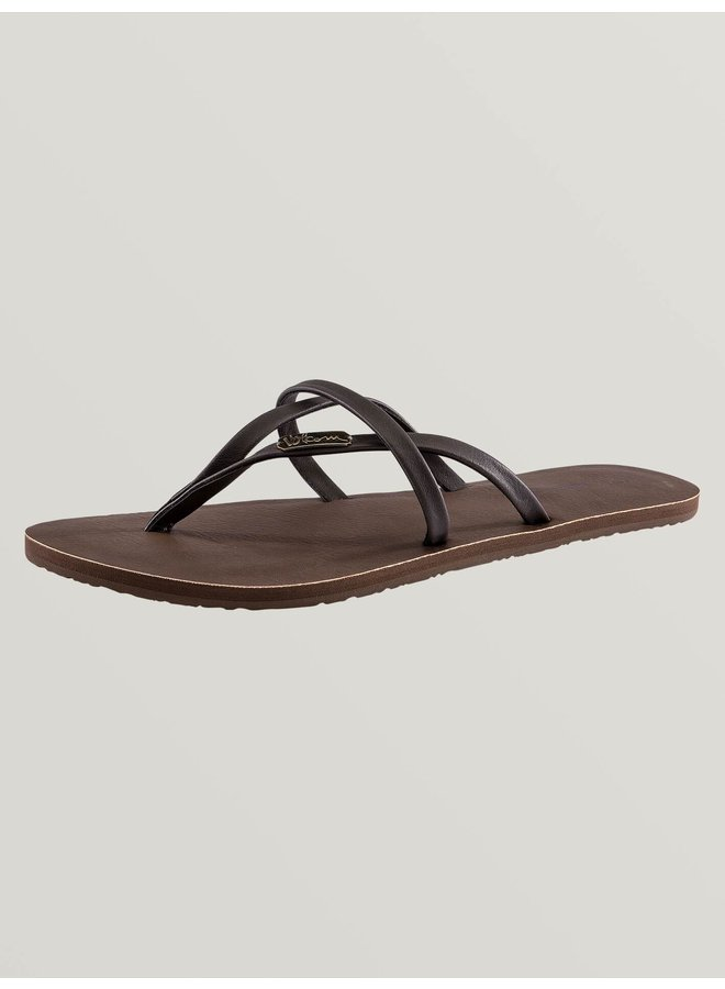 All Night Long Sandals - Brown