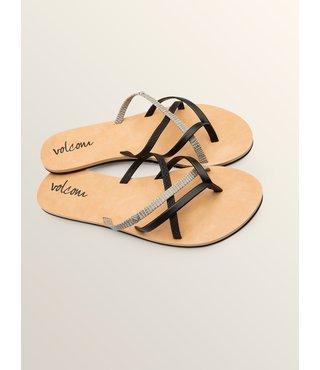 New School Sandals - Black Combo