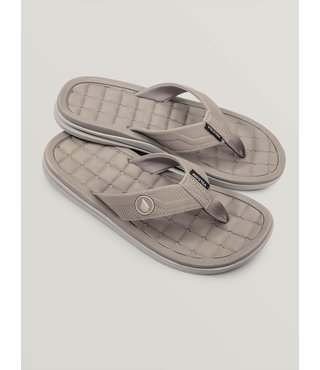 Drafted Recliner Sandals - Tan