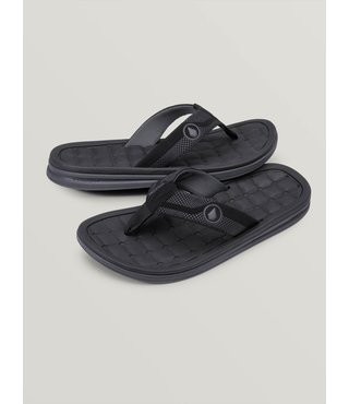 Drafted Recliner Sandals - Black Combo