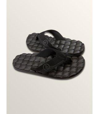 Recliner Sandals - Black Destructo