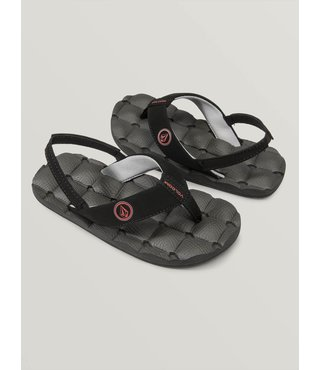Little Boys Recliner Sandals - Graphite