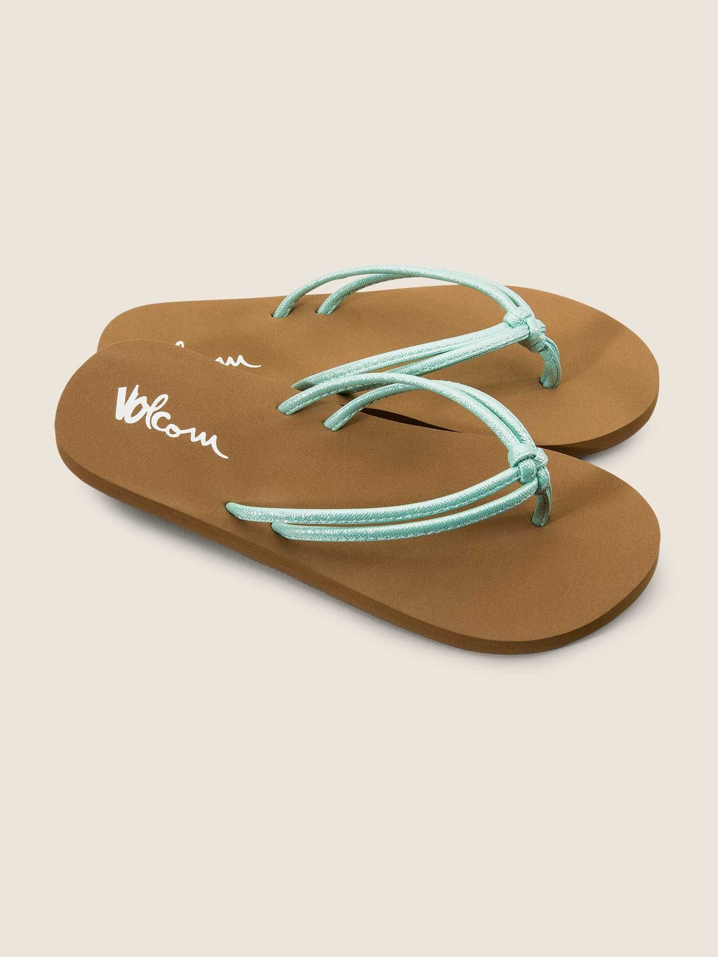 c4b7c12490d VOLCOM Girls Forever And Ever Sandals - Misty Blue. Press tab to enlarge