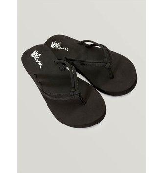 VOLCOM Girls Forever And Ever Sandals - Black
