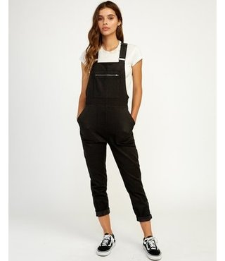 Peace Mission Woven Overall - Black