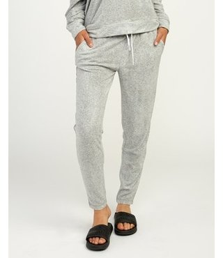Whisper Fleece Pant - Heather Grey