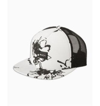 RVCA Sage Vaughn Talum Trucker Hat - White