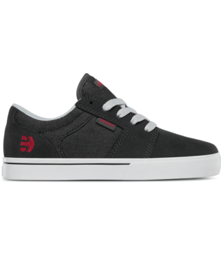 Kid's Barge LS Skate Shoe - Charcoal