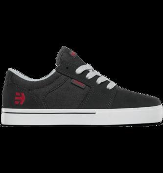 ETNIES FOOTWEAR Kid's Barge LS Skate Shoe - Charcoal