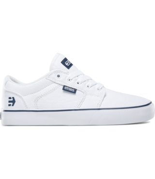 Women's Barge LS Skate Shoe - White/Blue