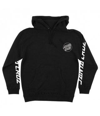 Screaming Skull Pullover Hooded Sweatshirt - Black