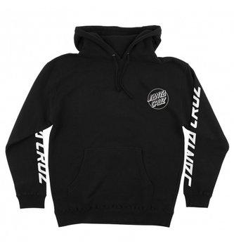 Santa Cruz Skateboards Screaming Skull Pullover Hooded Sweatshirt - Black